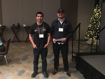 Chris Rodriguez and Daniel Enriquez Ulloa Award